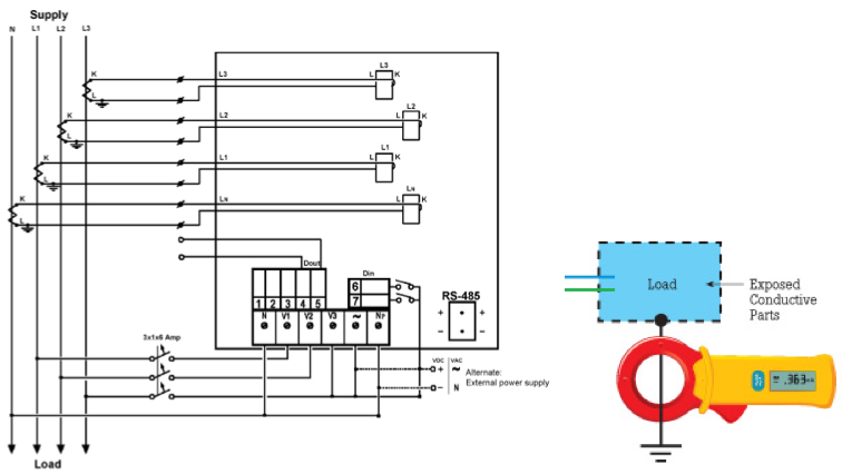 wsnbuzz choosing the right tools for your energy conservation project pelco ptz camera wiring diagram meter wiring diagrams for ct rated meters #37