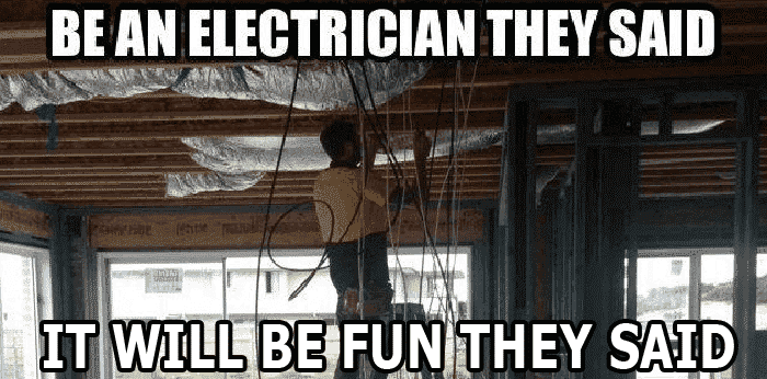 Electric issues during installation